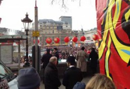 Chinese community Event in Central London