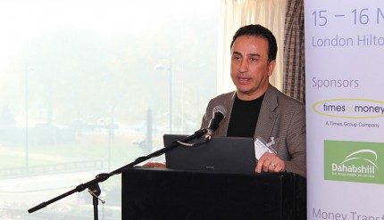Saad Saraf addressing ethnic marketing