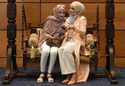 London show reflects global boom in Islamic fashion